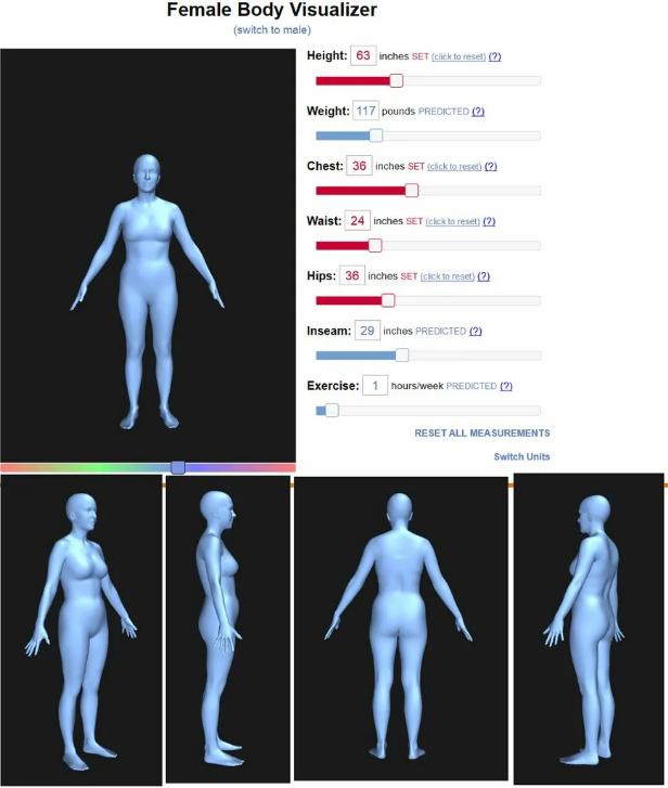 3 лучших визуализаторов тела