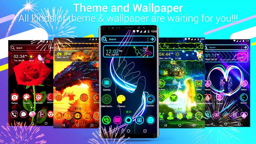 7 приложений с темами и обоями для кастомизации Android