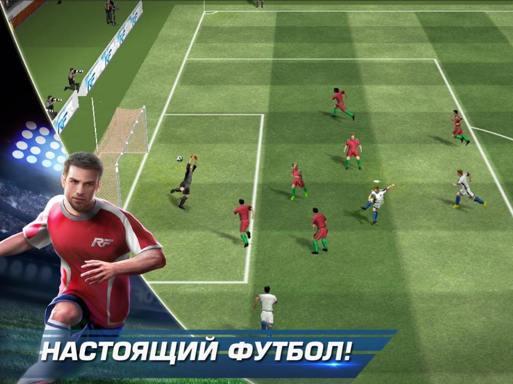 7 лучших игр в футбол на Андроид
